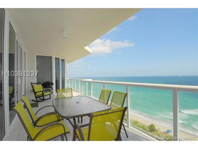 Hollywood Condo/Townhouse For Sale: 6001 N Ocean Drive #1007