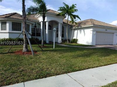 Pembroke Pines Single Family Home For Sale: 13955 NW 22nd Ct