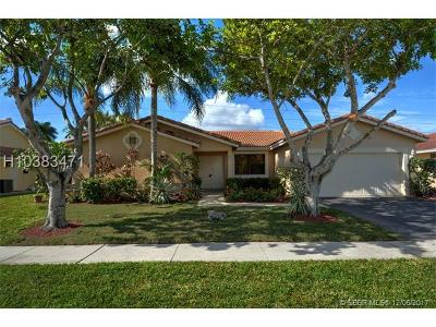 Weston Single Family Home For Sale: 511 SW 169th Ter