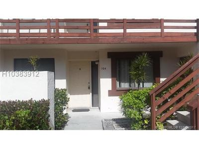 Miami Gardens Condo/Townhouse For Sale