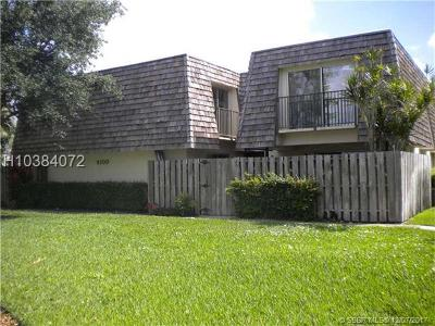 Davie Condo/Townhouse For Sale: 9100 SW 22nd Ct #C-2