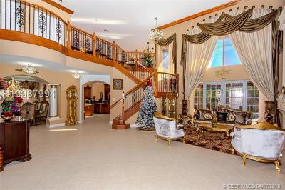 Miramar Single Family Home For Sale: 18990 SW 41st St