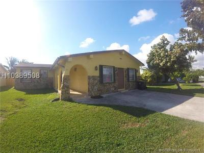 Dania Beach Single Family Home Backup Contract-Call LA: 212 SE 4th Terrace