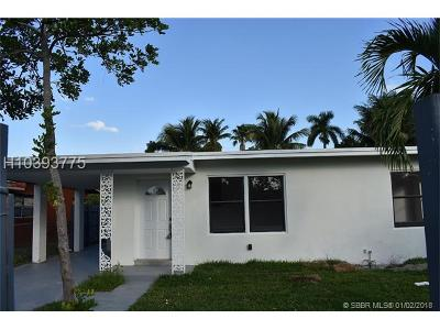 Fort Lauderdale FL Single Family Home For Sale: $274,900
