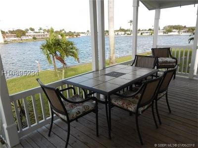 Dania Beach Single Family Home For Sale: 2909 Lakeshore Dr