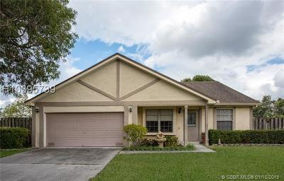 Sunrise Single Family Home For Sale: 812 SW 159th Ter
