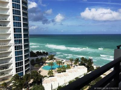 Hollywood Condo/Townhouse For Sale: 3505 S Ocean Dr #1208