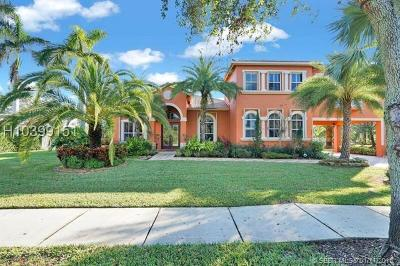 Davie Single Family Home For Sale: 3080 SW 139th Ter