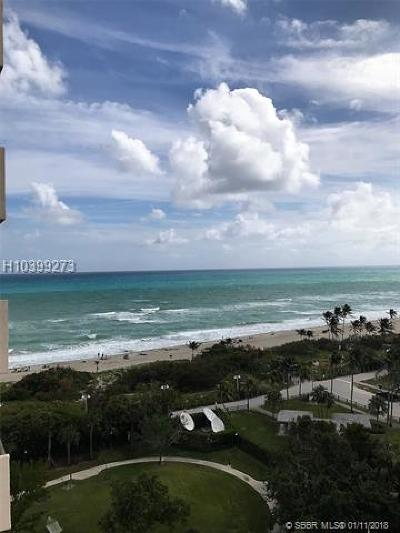 Hollywood Condo/Townhouse For Sale: 1201 S Ocean Dr #1206S