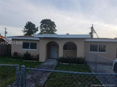 Miramar Single Family Home For Sale: 6536 SW 23rd St