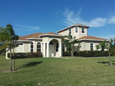 Southwest Ranches Single Family Home For Sale: 5033 SW 160th Ave