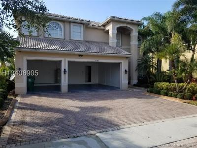 Miramar Single Family Home For Sale: 4146 SW 190th Ave