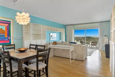 Hollywood Condo/Townhouse For Sale: 4400 Hillcrest Dr #1006A