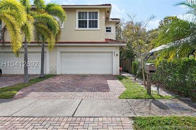 Fort Lauderdale Condo/Townhouse For Sale: 602 SW 8th St #1