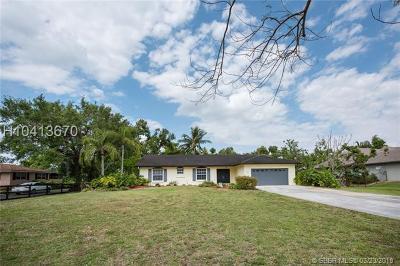 Davie Single Family Home Backup Contract-Call LA: 13731 SW 18 Ct