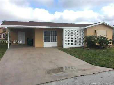 Tamarac Single Family Home For Sale: 4915 NW 55th Ct