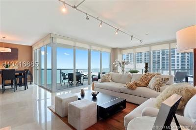 Hollywood Condo/Townhouse For Sale: 3101 S Ocean Dr #1702