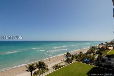 Hollywood Condo/Townhouse For Sale: 6051 N Ocean Drive #706