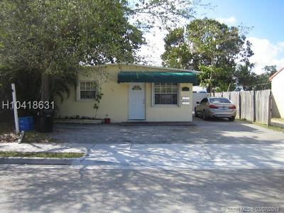 Fort Lauderdale FL Multi Family Home For Sale: $244,900