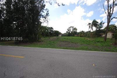 Residential Lots & Land For Sale: 13650 SW 26th St