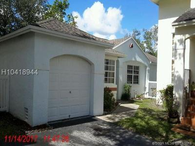 Single Family Home For Sale: 11968 NW 12th St