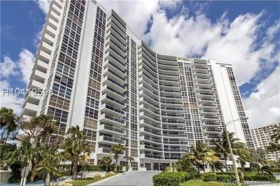 Fort Lauderdale Condo/Townhouse For Sale: 2841 N Ocean Blvd #1407