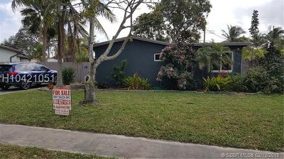 Fort Lauderdale Single Family Home For Sale: 2030 SW 36 Terr