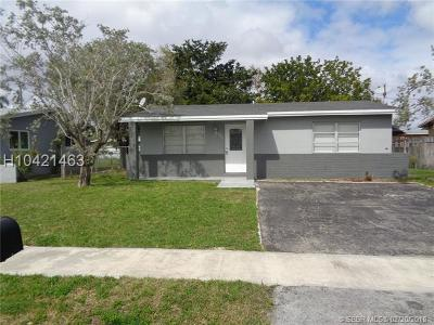Sunrise Single Family Home For Sale: 9351 NW 25th St
