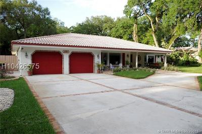 Fort Lauderdale Single Family Home For Sale: 3861 SW 56th Ct