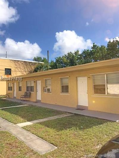 Dania Beach Multi Family Home For Sale: 417 Phippen Waiters Rd