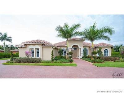Davie Single Family Home For Sale: 14240 Jockey Cir