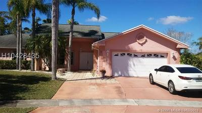Pembroke Pines Single Family Home For Sale: 20151 NW 8th St