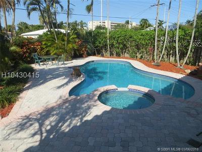 Dania Beach Single Family Home For Sale: 229 SE 3rd Ter