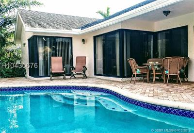 Cooper City Single Family Home For Sale: 5816 SW 89th Way