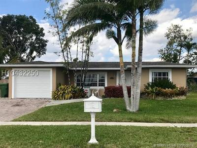 Pembroke Pines Single Family Home Backup Contract-Call LA: 9431 NW 19th St