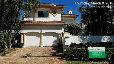 Fort Lauderdale FL Single Family Home For Sale: $1,279,200