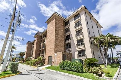 Hollywood Condo/Townhouse For Sale: 3200 N Ocean Dr #503
