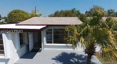 Fort Lauderdale FL Single Family Home For Sale: $255,500
