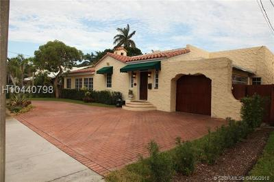Fort Lauderdale FL Single Family Home For Sale: $779,000