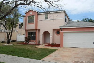 Miramar Single Family Home For Sale: 9581 Hudson St