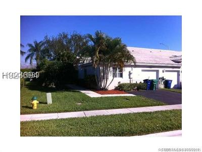 Miramar Condo/Townhouse For Sale: 11365 SW 17th Ct #1