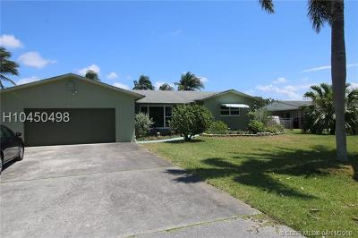 Dania Beach Single Family Home For Sale: 4600 SW 34 Terrace