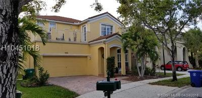 Miramar Single Family Home Active Under Contract: 5030 SW 155th Ter