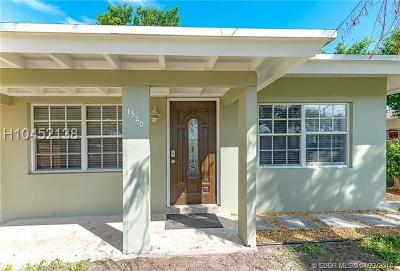 Fort Lauderdale Single Family Home For Sale: 1520 NW 9