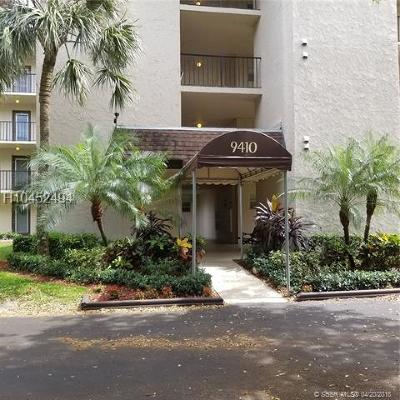 Davie Condo/Townhouse For Sale: 9410 Poinciana #305