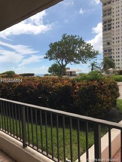 Hollywood Condo/Townhouse For Sale: 1201 S Ocean Dr #405N