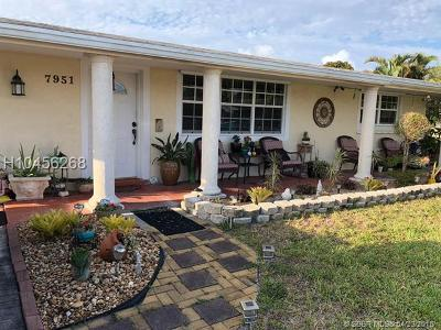 Pembroke Pines Single Family Home For Sale: 7951 NW 11th St