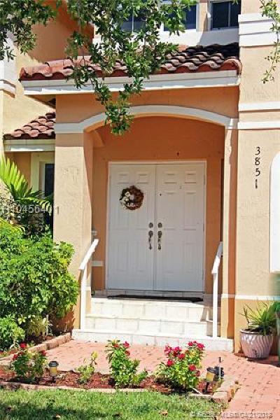 Miramar Condo/Townhouse Backup Contract-Call LA: 3851 SW 170 #3851