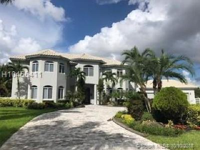 Southwest Ranches FL Single Family Home For Sale: $2,200,000