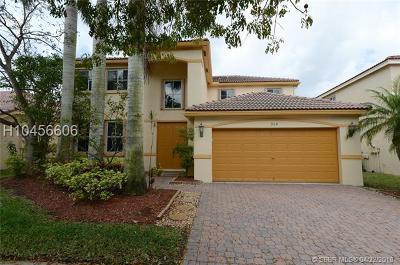 Weston Single Family Home For Sale: 954 Lavender Cir